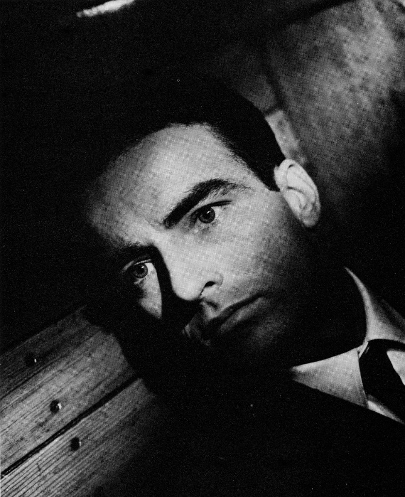 Montgomery Clift portrait