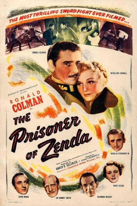 The Prisoner of Zenda (1937) Movie Poster