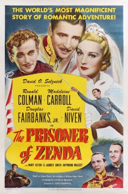 The Prisoner of Zenda (1937) Poster