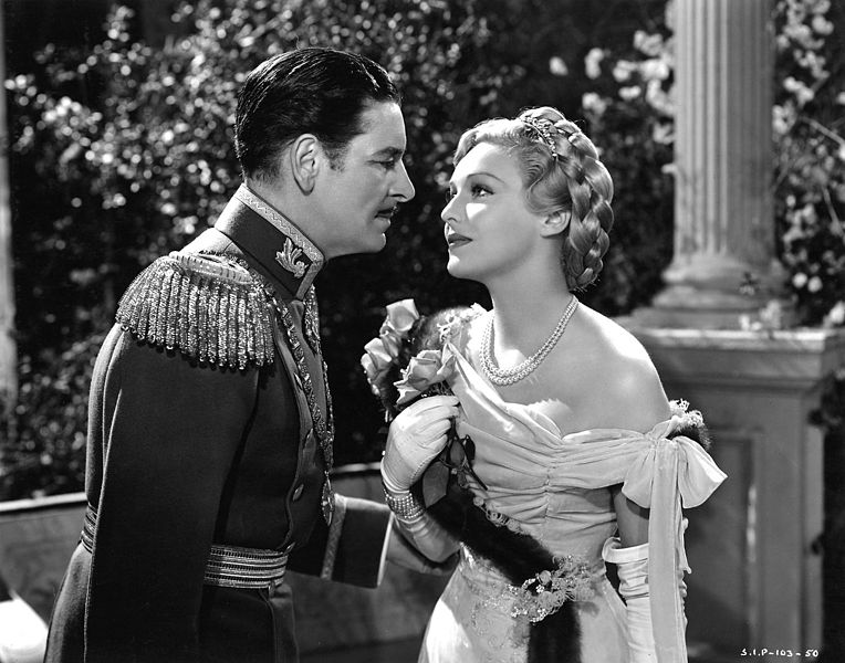 The Prisoner of Zenda (1937) Ronald Colman Madeleine Carroll