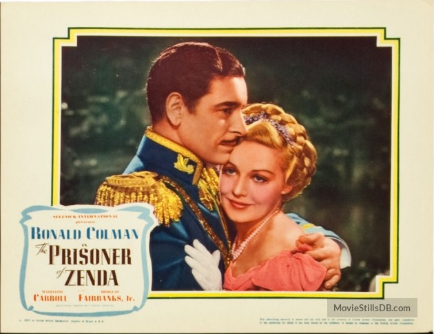 The Prisoner of Zenda (1937) lobby card 2