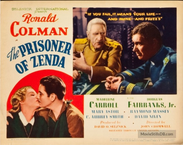 The Prisoner of Zenda (1937) lobby card 3