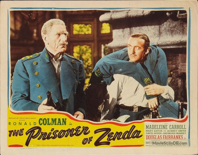 The Prisoner of Zenda (1937) lobby card 5
