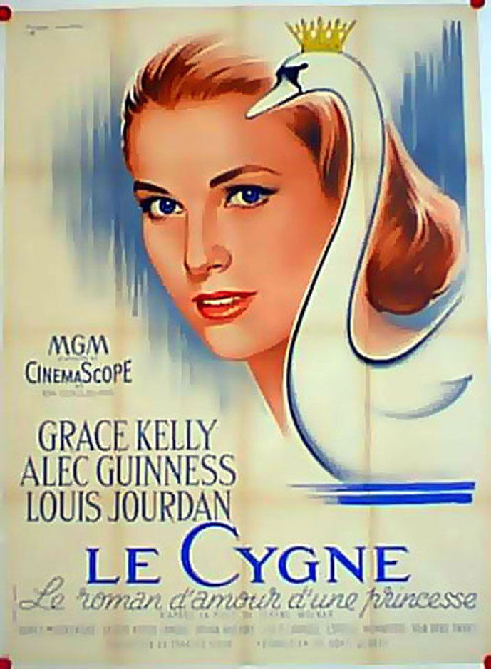 The Swan Grace Kelly Vintage Movie Poster