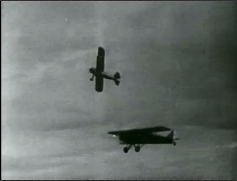 Parachute Jumper (1933) Review Poster planes