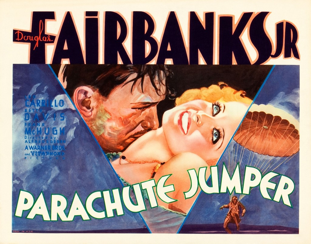 Parachute Jumper (1933) Review Poster smaller