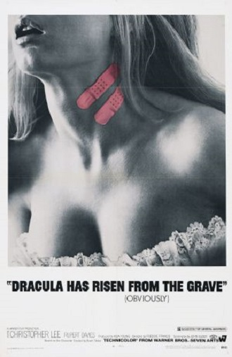 Stylish Halloween Films Dracula Has Risen from the Grave 1