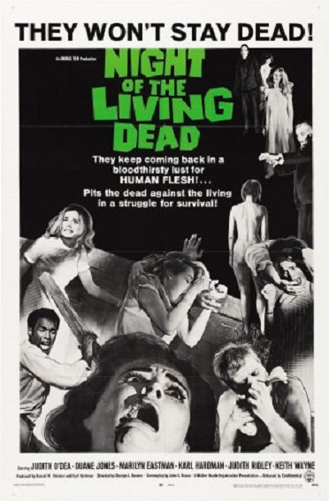 Stylish Halloween Films Night of the Living Dead Poster