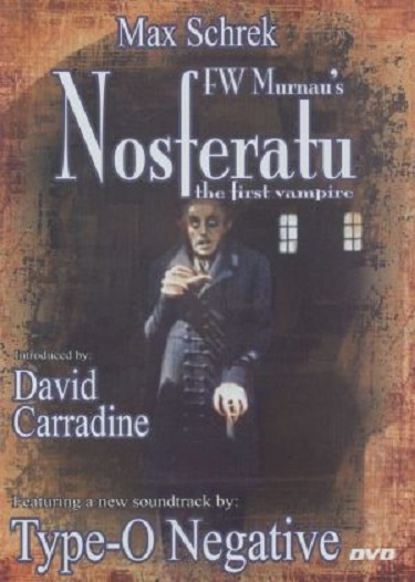 Stylish Halloween Films Nosferatu 1922 Poster
