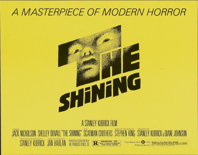 Stylish Halloween Movies the-shining