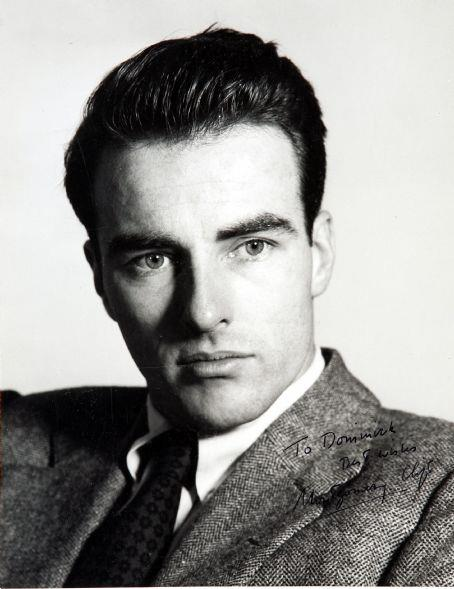 Monty Clift portrait