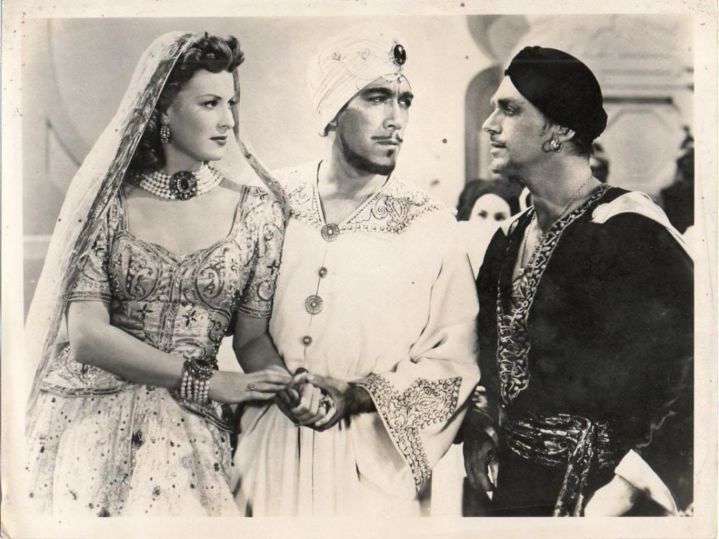 Sinbad The Sailor (1947) Anthony Quinn Maureen O'Hara Douglas Fairbanks Jr.