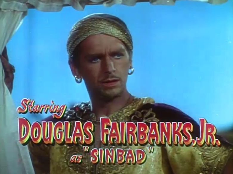 Sinbad the Sailor (1947) Stylish Movies Douglas Fairbanks Jr.