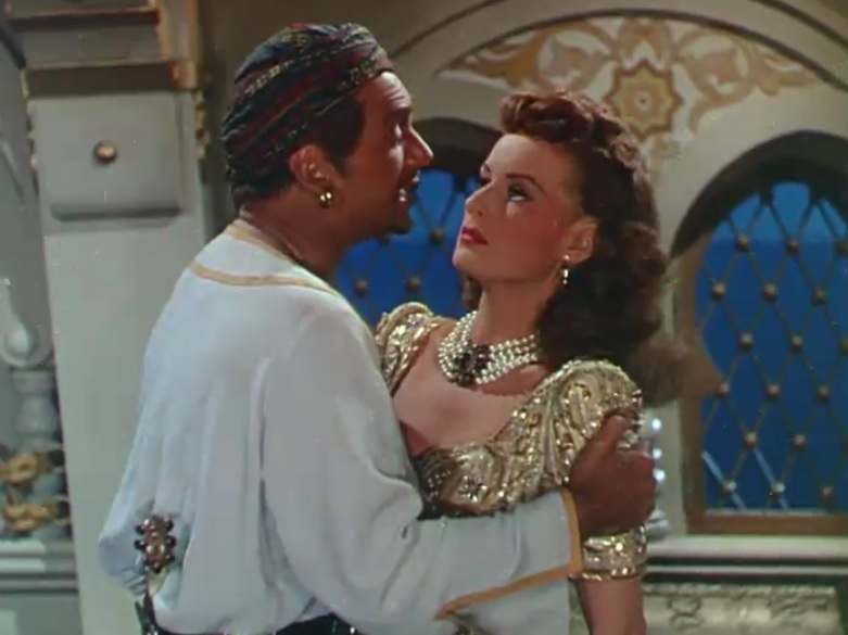 Sinbad the Sailor (1947) Stylish Movies Maureen O'Hara Douglas Fairbanks Jr.